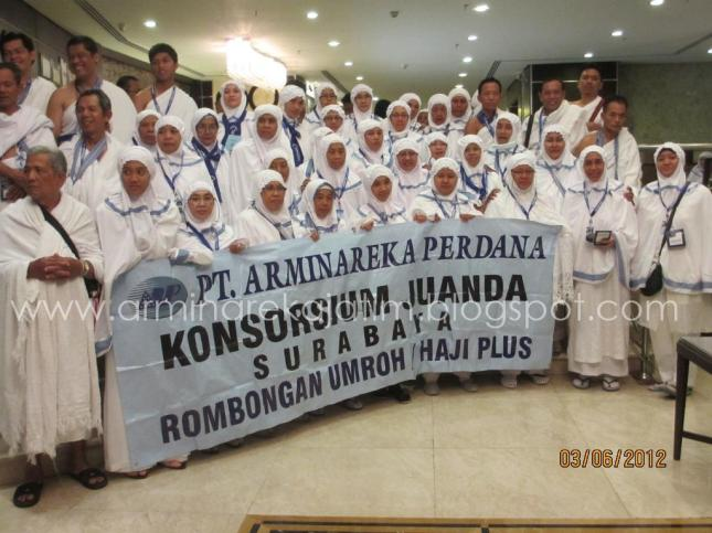 Tour Leader Umroh Arminareka Perdana Travel Haji Plus dan Umroh