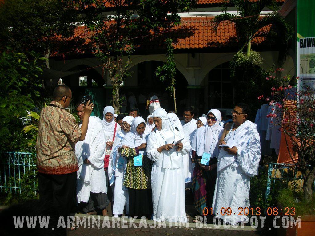 foto manasik haji plus 2013 arminareka perdana asrama haji surabaya 01
