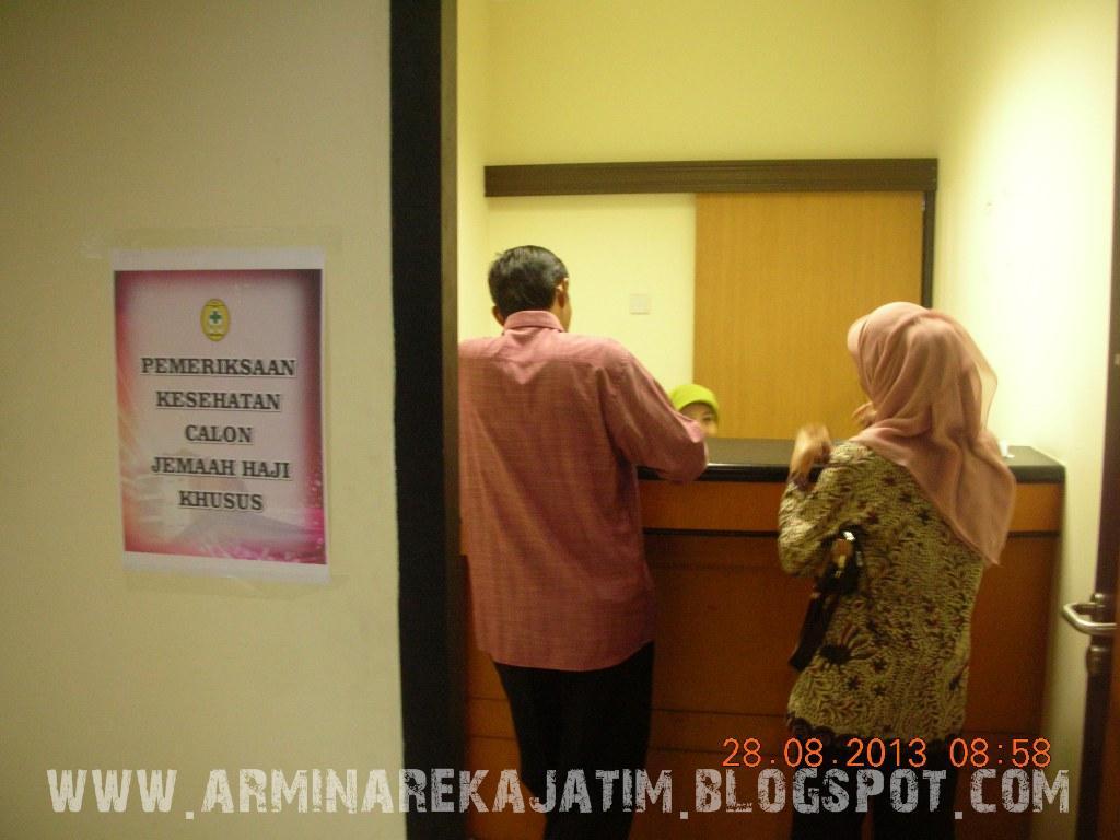 foto pemeriksaan kesehatan jamaah haji plus 2013 arminareka perdana 06
