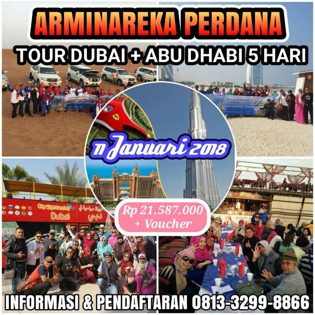 Paket Tour Dubai Abu Dhabi 5 Hari Arminareka Perdana